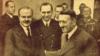 """Первый лист газеты """"Правда"""". Фотография Молотова и Гитлера в имперской канцелярии. 1940 год"""