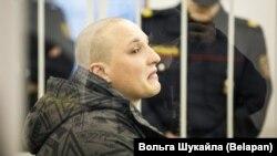 Максим Павлющик в суде