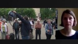Жена белорусского оппозиционера Северинца рассказала, что с ним происходит в изоляторе