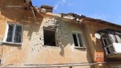 Обстрел Киевского района Донецка 18 мая