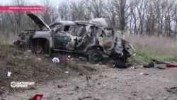 В Луганской области автомобиль миссии ОБСЕ подорвался на мине
