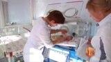 Роддома Донецка продолжают работать, несмотря на обстрелы