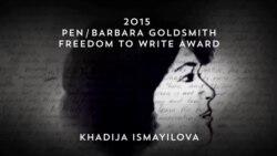 Хадиджа Исмаил получила премию ПЕН-центра как узник совести