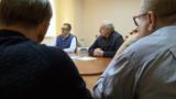 Юрий Воскресенский рядом с Александром Лукашенко, 10 октября 2020 года