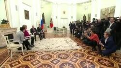 Что обсуждали в Москве Путин и Меркель