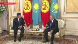 """""""Вы наш аксакал, старший брат"""": новый президент Кыргызстана приехал к Назарбаеву"""