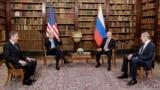 SWITZERLAND -- U.S. President Joe Biden and Russian President Vladimir Putin meet for the U.S.-Russia summit at Villa La Grange in Geneva, June 16, 2021