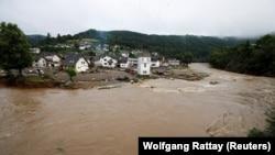 Затопленный город в долине реки Ар