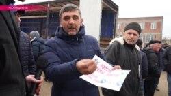 Дальнобойщики Дагестана уверены, что президент ничего не знает об их проблемах