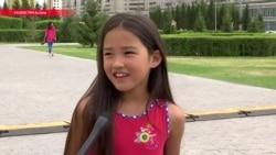 Маленькая казашка восемь лет не была на родине после удочерения. Вот, что она увидела, когда вернулась