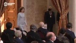 Как прошла инаугурация избранного президента Молдовы Майи Санду