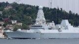 Royal Navy's Type 45 destroyer HMS Defender