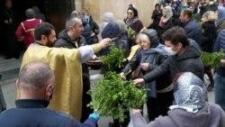 Патриархия Грузии отказалась прекратить богослужения на Пасху