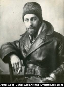 Американский фотограф Джеймс Эббе во время первой поездки в СССР в 1927 году. James Abbe/James Abbe Archive