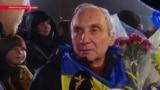Освобожденные из плена украинцы вернулись в Киев
