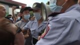 Kazakh Police Clash With Activists Protesting Rising Chinese Influence