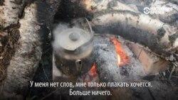 В Казани люди с детьми живут в палатках возле новостройки и ждут, когда сдадут дом