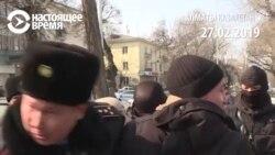 Массовые задержания в Казахстане в день съезда правящей партии
