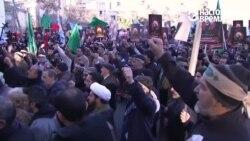 Иранцы протестуют против саудовской монархии