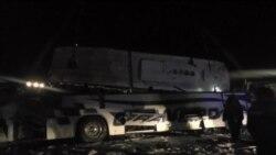 В Забайкалье задержан первый подозреваемый по делу об аварии автобуса