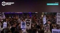 Массовые протесты в Испании из-за ареста рэпера, который пел про короля