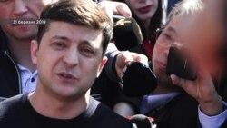 Схемы: как Порошенко и Зеленский отвечали на неудобные вопросы