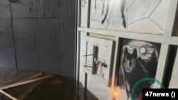 Санкт-Петербург. Частная подземная тюрьма, печь. Фото 47news