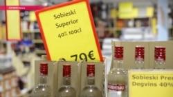 Алкогольная столица Валка. Почему Эстонии не нравятся латвийские алкошопы