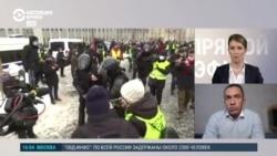 Александр Кынев о действиях силовиков 31 января