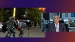 """""""Еще есть шанс вернуться в правовое русло"""": политолог Осмонбетов – о беспорядках в Бишкеке"""