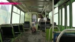 Троллейбус в Нарыне как спасение от шакала
