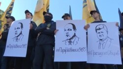 В Киеве требовали принять закон о защите от депортации иностранных добровольцев