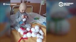 Мальчик, который шил снеговиков, чтобы оплатить лечение от рака, готовится к школе