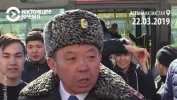 Полиция в Казахстане задерживает корреспондентов, которые рассказывают о задержаниях людей