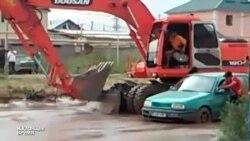 В Алма-Аты сошел сель, затопило Наурызбайский район