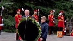 Александр Лукашенко приехал в Грузию