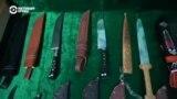 Азия 360°: ножи Шахриана