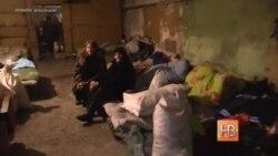 Бомбоубежище в разрушенном войной Дебальцево