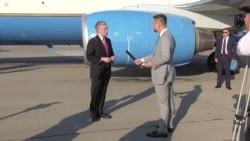 Эксклюзивное интервью Джона Болтона Настоящему Времени после встречи с президентом Беларуси
