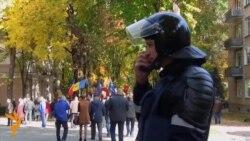 В Кишиневе требовали освободить из-под стражи оппозиционера Ренато Усатого