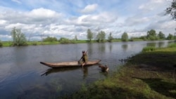 Человек на карте: как изготовить лодку-долбленку
