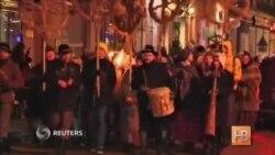 В Латвии встретили солнцестояние традиционным сожжением колоды
