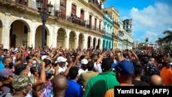 Гавана, 11 июля 2021 года