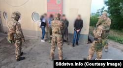 Задержание нападавших на Радоя Звицера