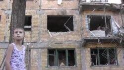Центр донецкого города Горловка подвергся артиллерийскому обстрелу