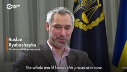 Ukraine's Chief Prosecutor Confirms Burisma Prosecutor Fired