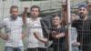 Мигранты, задержанные на границе Беларуси и Литвы