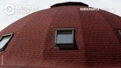 Тепло и экологично: инженер построил в Новосибирске дом из соломы