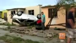На город Сьюдад-Акунья в Мексике обрушился торнадо