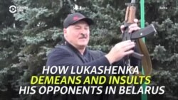 How Lukashenka Demeans And Insults His Opponents In Belarus
